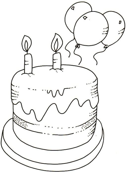 Aniversário! desenhos para colorir