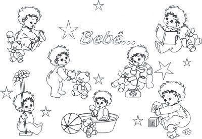 Clique No Desenho Do Beb   Escolhido Para Imprimir Ou Ver Maior