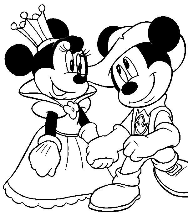 Minnie para colorir, pintar a minie mouse, minnie disney