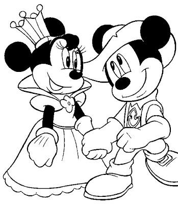 Desenhos Para Pintar e Colorir Minnie Imprimir Desenho