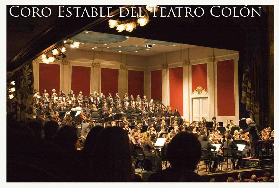 Blog del Coro Estable del Teatro Colón