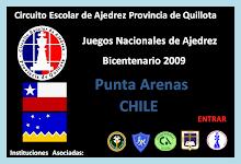 NACIONAL DE AJEDREZ JUEGOS DEL BICENTENARIO PUNTA ARENAS CHILE (05 al 08 Octubre 2009)