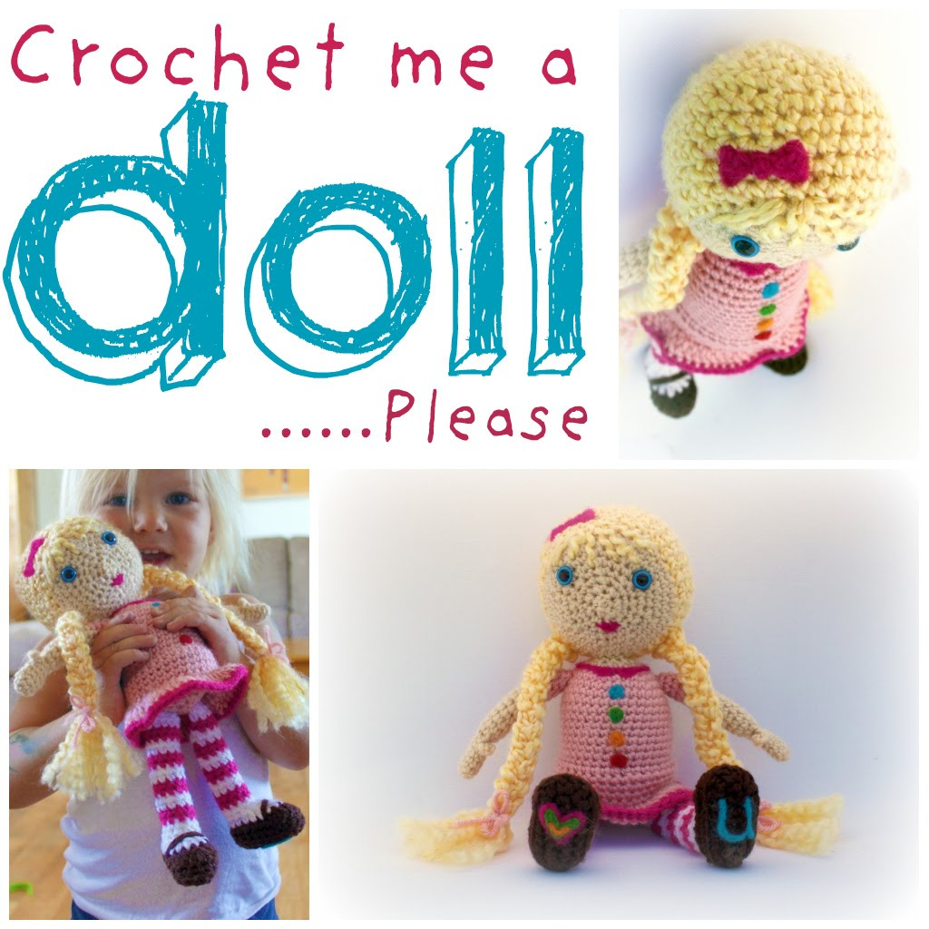 Basic Crochet Doll Pattern Free : CROCHET DOLL PATTERNS FREE FREE PATTERNS