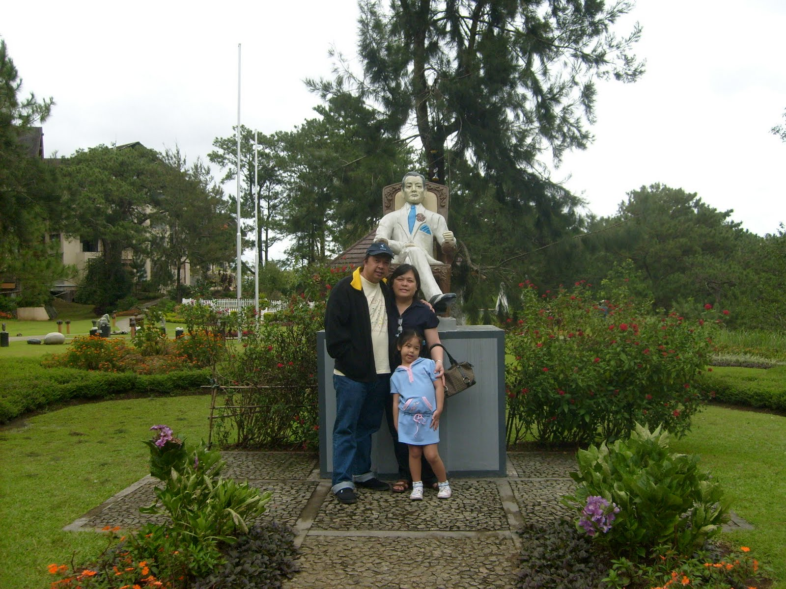 ferddie u0026 39 s blue jeans  a foggy family outing in baguio  part 1