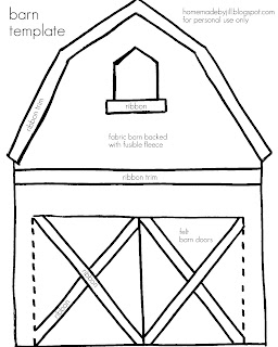 Displaying 18> Images For - Barn Cut Out Template...