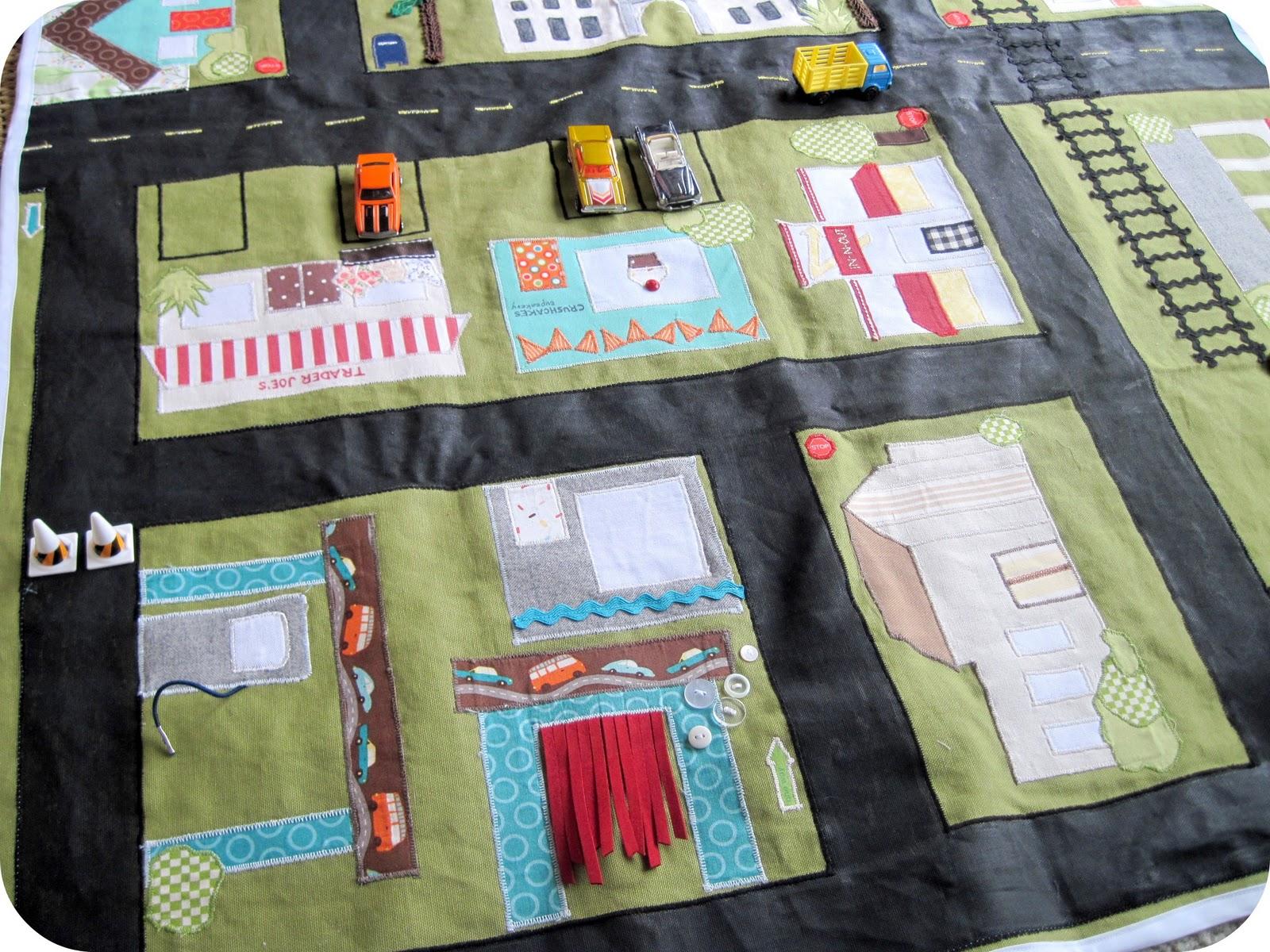 Игровой коврик для малышей своими руками 30