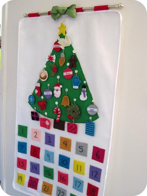Advent Calendar Craft-Along: Ideas   Cook Clean Craft