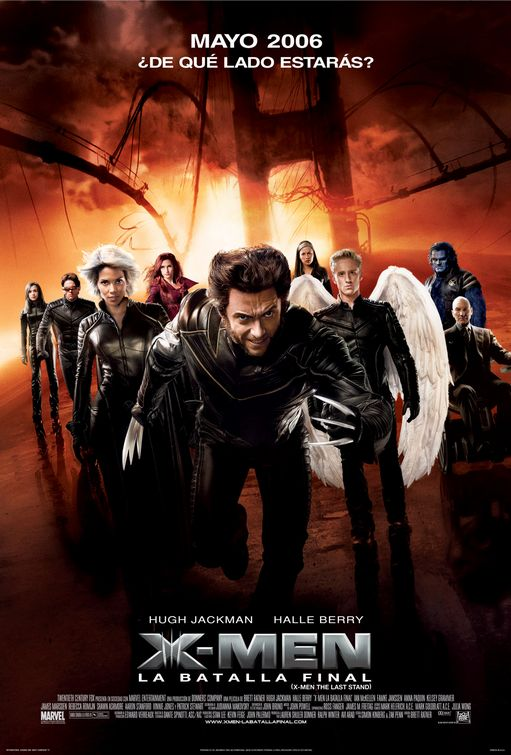 x men three ver8 X Men 1   2   3   y X Men Origenes: Wolwerine DVDrip latino 1 link c/u