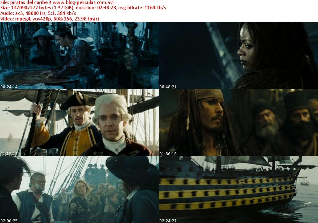 Piratas Del Caribe 4espanol Latino