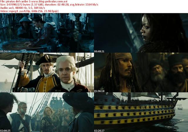Piratas del Caribe 3 dvdrip latino