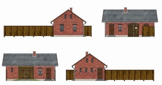 kostenlose papiermodelle s chsisches wirtschaftsgeb ude. Black Bedroom Furniture Sets. Home Design Ideas
