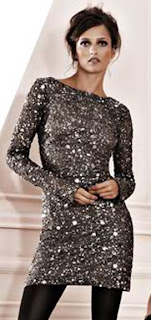 Long Sleeve Sequin Mini Dress on Aidan Mattox Silk Long Sleeved Sequined Dress 300 00 Bloomingdales Com
