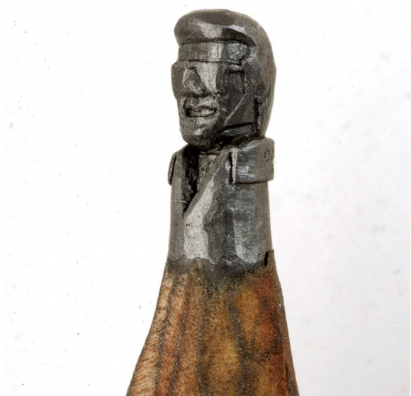 Accidental mysteries carved from the lead in pencils