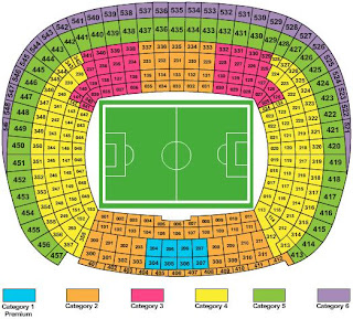 Camp Nou - Seating Chart and Information