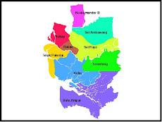 Peta Kabupaten Kubu Raya