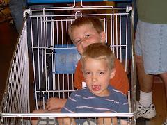 Shopping at IKEA 2007