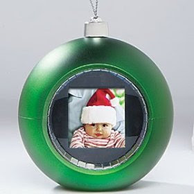digital photo Christmas ornament