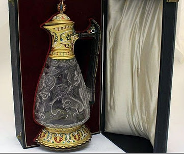 19th-century French claret jug