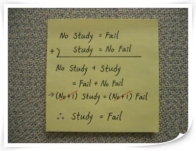 Study=Fail