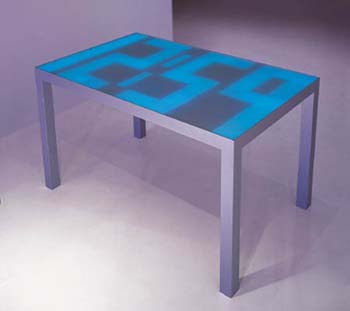 Digital clock table
