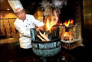 Beijing roast duck restaurant