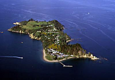 Pakatoa Island New Zealand