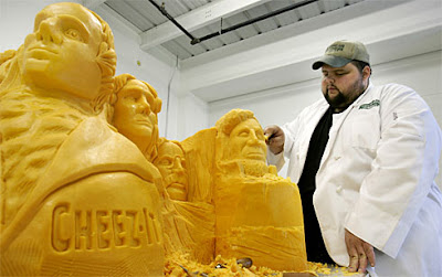 Cheese Carving