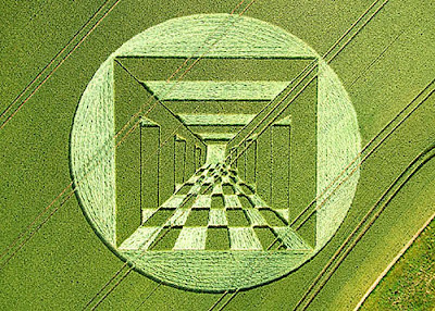 3-D crop circles
