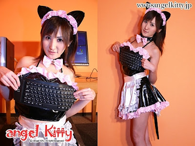 Angel Kitty's USB Keyboard Bra