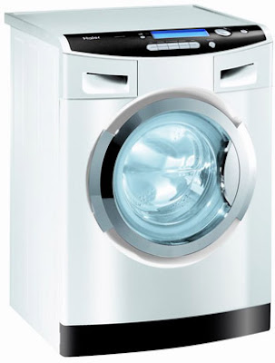 Haier WasH2O is a washing machine that doesn't use detergents