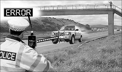 Gateway driver jams laser cop