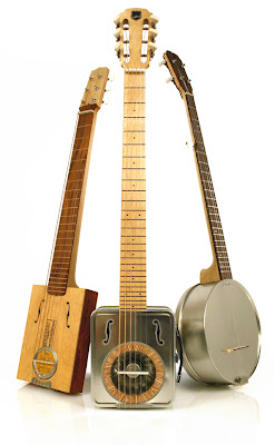 Guitars made from trash