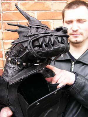 Bag shaped like a dragon