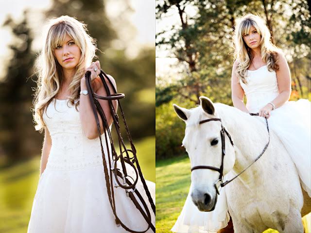 how to make a equestrian garland