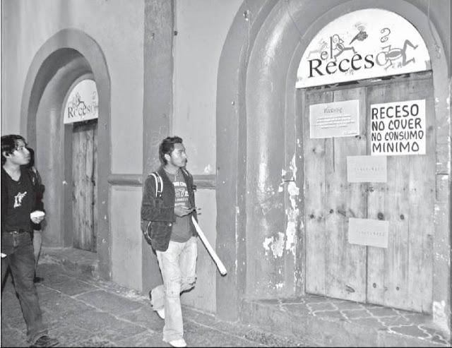 Clausuran antro en Analco
