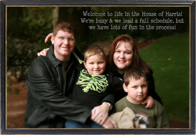 Welcome to life in the House of Harris!