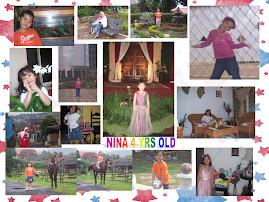 NINA 4-5 YEARS OLD