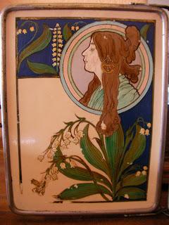Objets de collection art deco tableaux ancien miroir - Miroir tryptique castorama ...