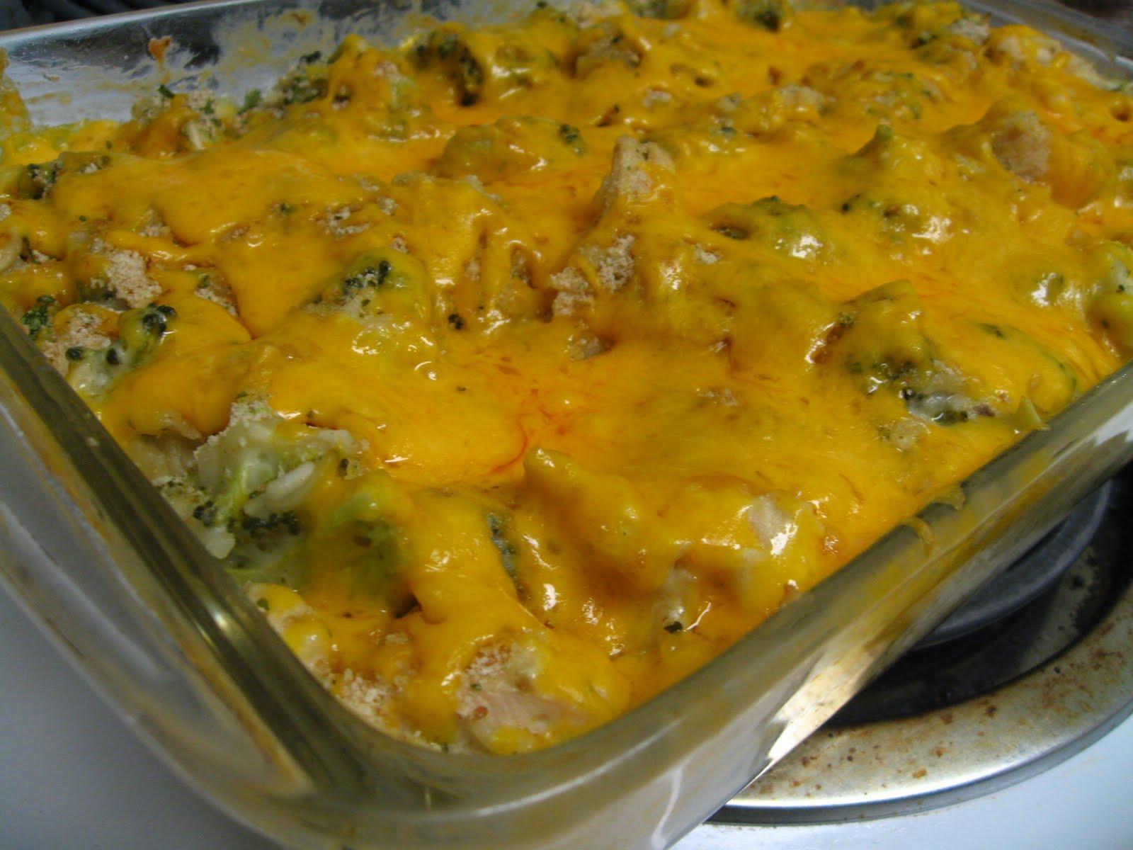 Cream of broccoli chicken casserole recipes