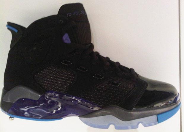 Mens Air Jordan Six Rings Punch Black White shoes