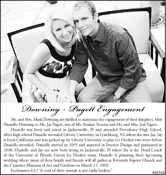 The Flint Journal Wedding Announcement