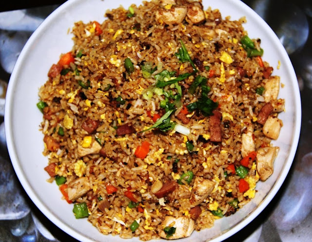 Sinning in Singapore: Recipe: Chinese Fried Rice