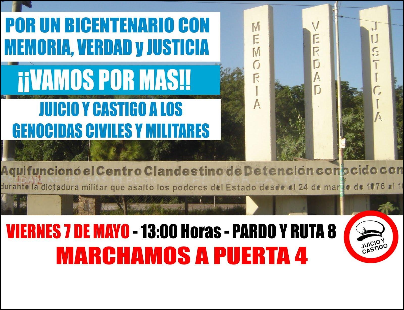 Doctrina en marcha for Puerta 7 campo de mayo