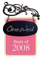 Voted OneWed&#39;s Best of 2008