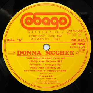 Donna McGhee - You Should Have Told Me (1981)
