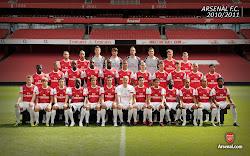Arsenal FC Squad 2010/2011
