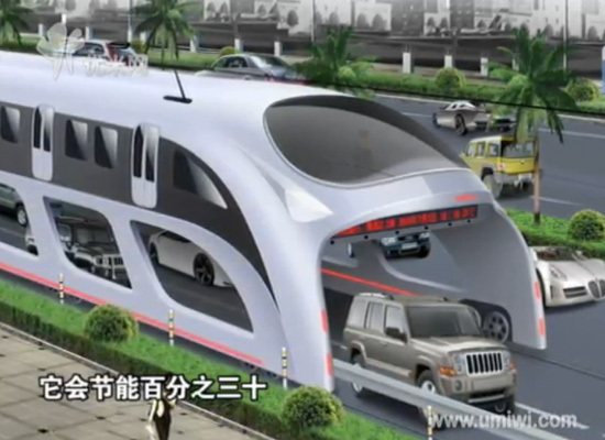 China Plans Huge Buses That Can DRIVE OVER Cars
