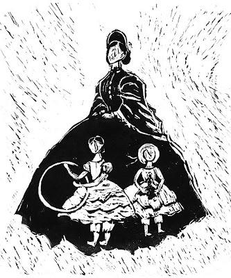 Poster for the film Les Petites Filles Modèles by Clément Scheider