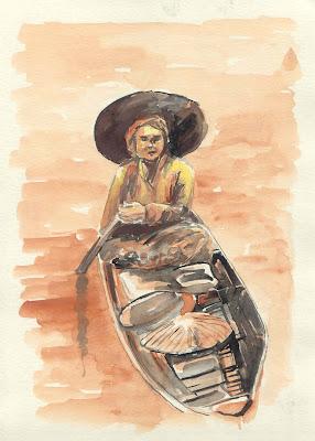 Lukisan, sketsa, cat air dan koleksi SYAHYUTI
