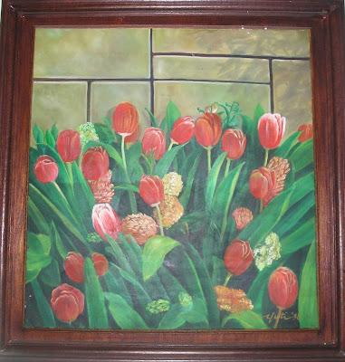 Koleksi Gambar Bunga Tulip Untuk Background Frame Wedding